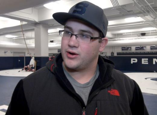 Penn State Wrestling: Cameron Wade Talks about Wrestling in Last Home Dual