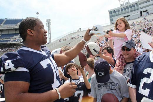 NFL Scouting Combine: Penn State OG Johnnie Troutman