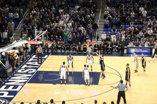 Penn State Basketball: Wildcats Squeak By Nittany Lions 67-66