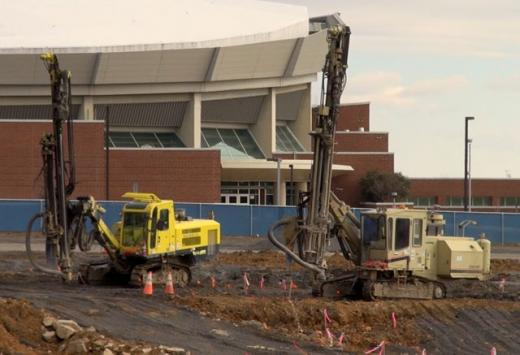Pegula Ice Arena VIDEO: Ruskin Says 'Construction is on Schedule'
