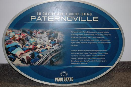 Penn State: Paternoville Sign Recovered; Suspect Identified in Beaver Stadium Case