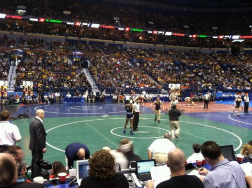NCAA Wrestling Championships: Penn State Advances Five to Semifinals