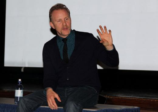 Filmmaker Morgan Spurlock Calls Penn State Scandal a Tragedy