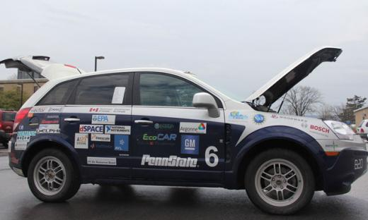 Penn State's EcoCAR2 to Rely in Part on Ethanol