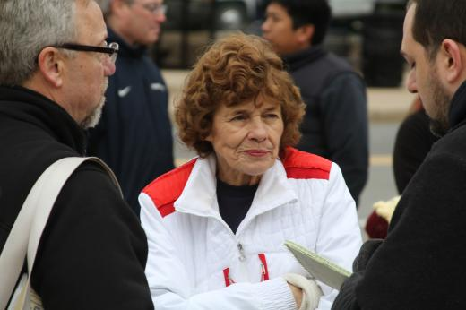 Sue Paterno Speaks At Special Olympics 5K Race In Honor of Late Husband