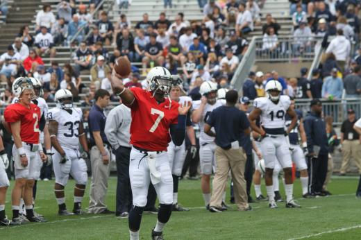Penn State Football: Paul Jones Firmly Entrenched in QB Race