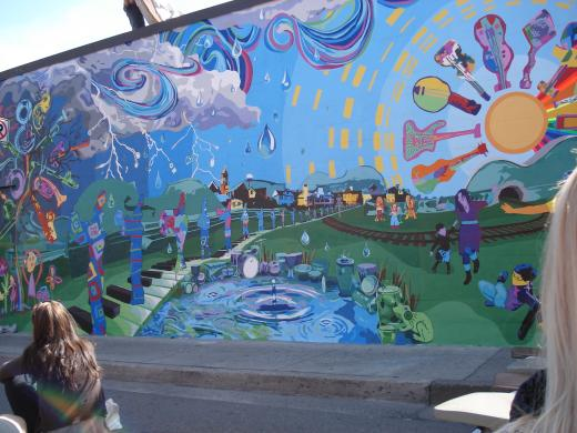 New Mural Unveiled in State College
