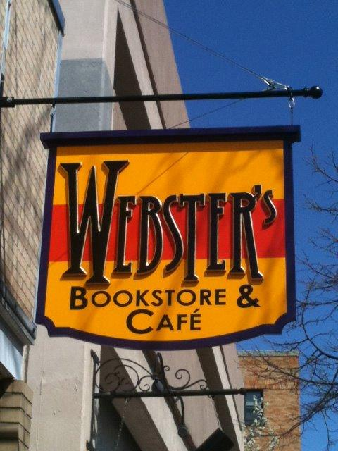 Michele Marchetti: Webster's Café is Where I Hang My Mug