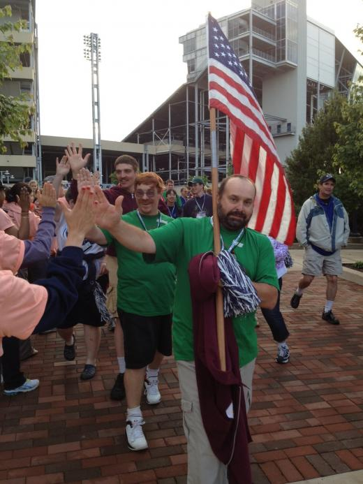 Special Olympics Open At Penn State With Paternos at the Helm