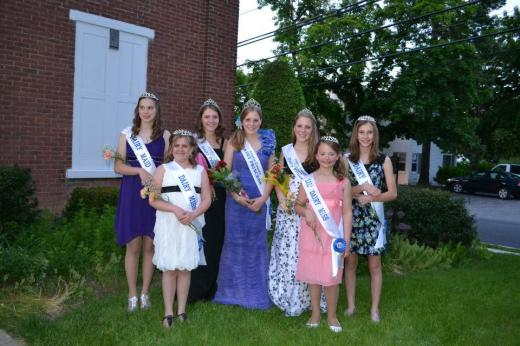 Heather Wasson Crowned Centre County Dairy Princess