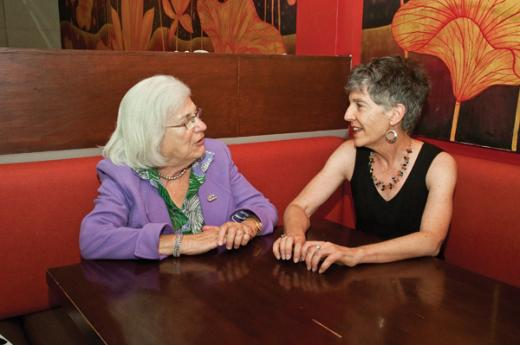 Lunch with Mimi: Martha Freeman