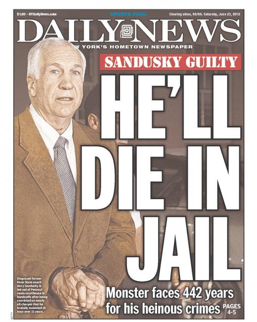 Major Headlines in Wake of Sandusky Trial