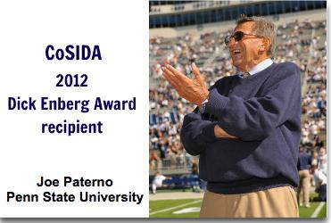 Jay Paterno: Lessons Learned from the Dick Enberg Award Presentation