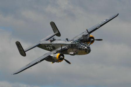 World War II Bomber to Fly Over 4th Fest