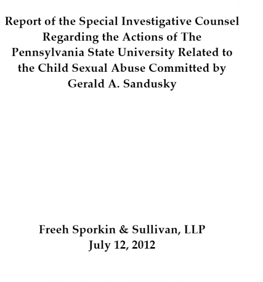 Attorney for Several Victims Plans to Exercise Subpoena Power to Dig Deeper into Freeh Report