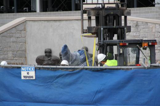 Joe Paterno Statue Removed and Taken Inside Beaver Stadium