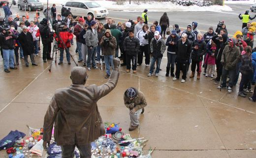 Report: Paterno Statue Removed From Beaver Stadium and Taken to Undisclosed Location