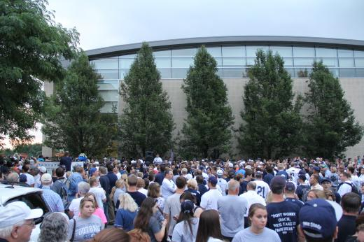 Penn State Football: 'Rise and Rally' Draws Thousands of Fans to Support Team