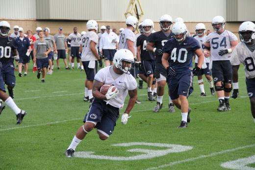 Penn State Football: Little Retooling Needed Even with Redd Gone, O'Brien Says