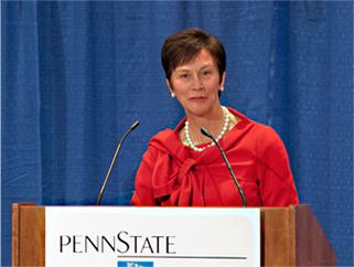 Penn State Trustees Voice Support for Rodney Erickson, Take No Vote