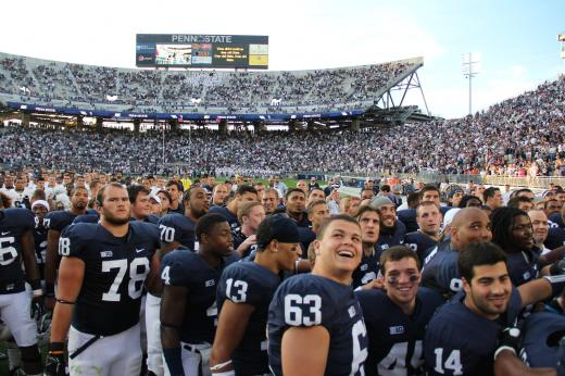 Penn State Football: Nittany Lions' Win Over Navy Could Turn Ship Around