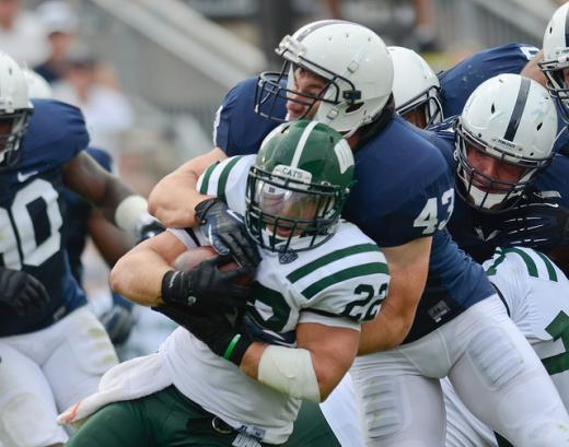 Hull of a Strength: Mike Hull a Vital Piece to Defense and Penn State Football Future