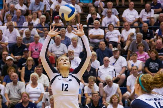 Penn State Women's Volleyball Back Atop National Poll