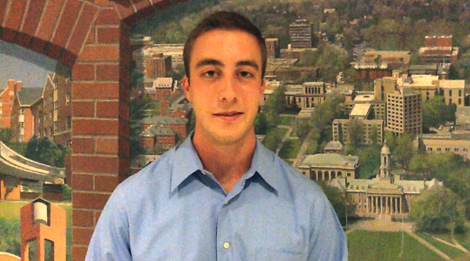 Saturday Video Profile: College Democrats President Drew McGehrin