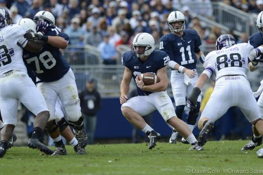 Penn State Football Notebook: Belton's Decreased Role Aligns with Zwinak's Emergence