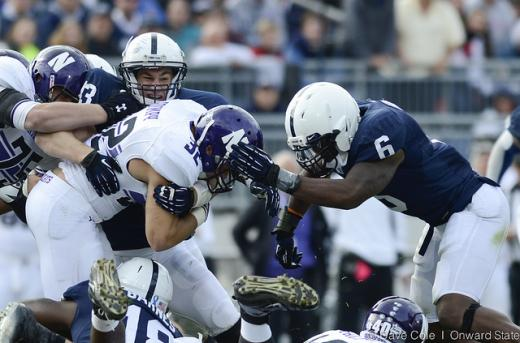 Penn State Football: Mid-season Evaluations for Linebackers and Defensive Backs