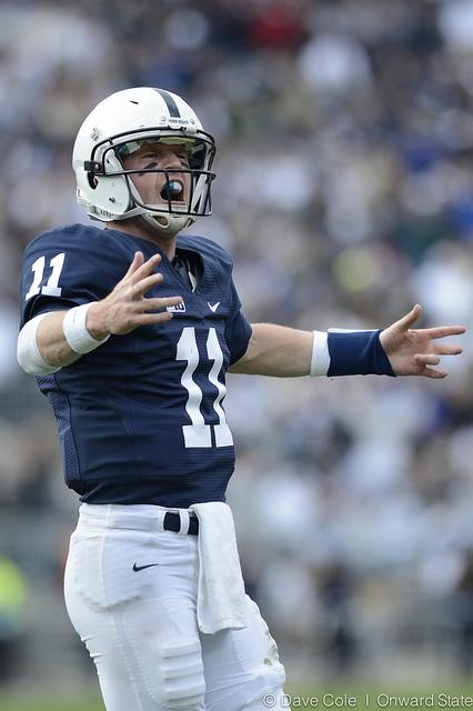 Penn State Football: Quarterbacks Matt McGloin, Braxton Miller Each Bring Own Dual-Threat Definition to Saturday's Showdown