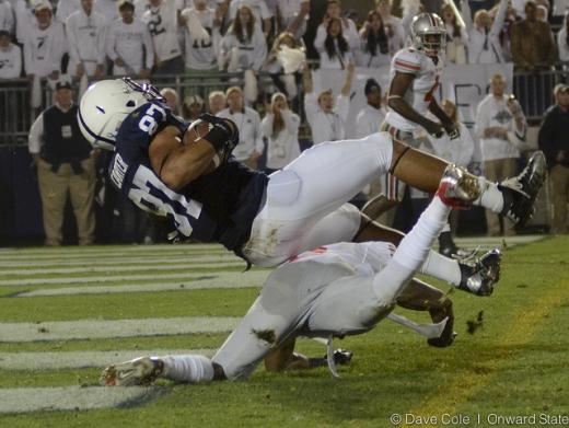 Penn State Football: Kyle Carter Day-to-Day with Lower Leg Injury