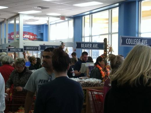 Crowds Flock to Trader Joe's for Grand Opening