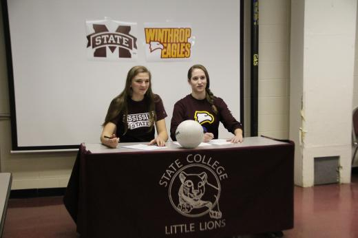 State High Volleyball: Two Local Volleyball Stars Sign Letter of Intent