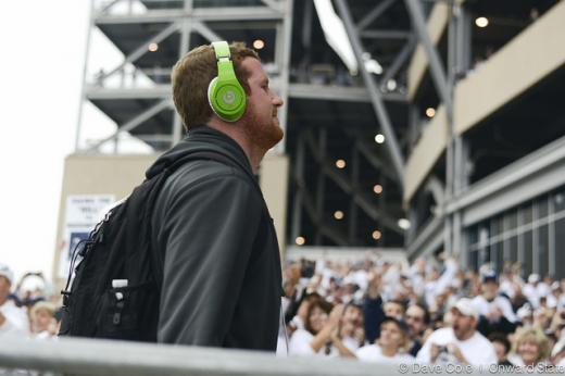 Penn State Football Pre-game: What's Playing Inside The Players' Headphones