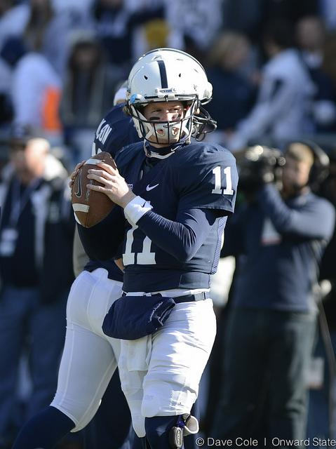 Penn State Football: McGloin, Robinson Pass and Catch Records in 45-22 Win Over Indiana