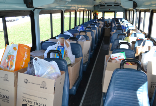 'Stuff a Blue Bus' to Help Feed 27 Counties in Central Pa.
