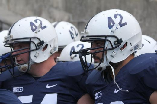 Penn State Football Pregame Notes: Teammates Honor Mauti by Wearing Number on Helmet