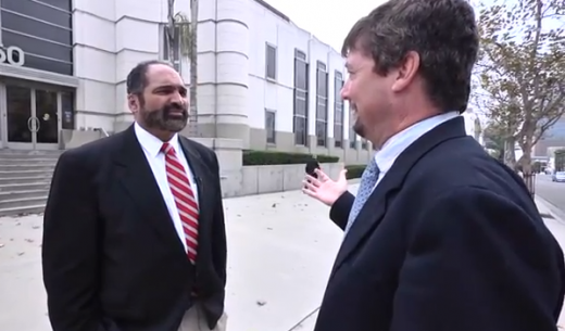 Franco Harris Confronts NCAA President Mark Emmert in Los Angeles; Police Called