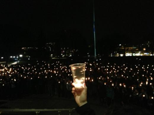 Penn State Gathers to Honor Newtown Victims