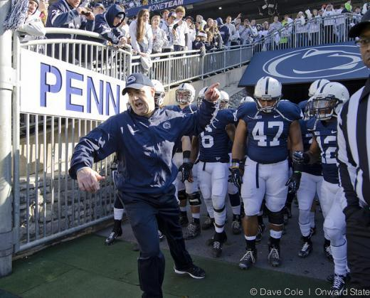 Penn State Football: Bill O'Brien a Finalist for Bear Bryant Coach of the Year Award