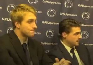Penn State Hockey: Tommy Olczyk Talks About Weekend Series Against Unites States U18 Team