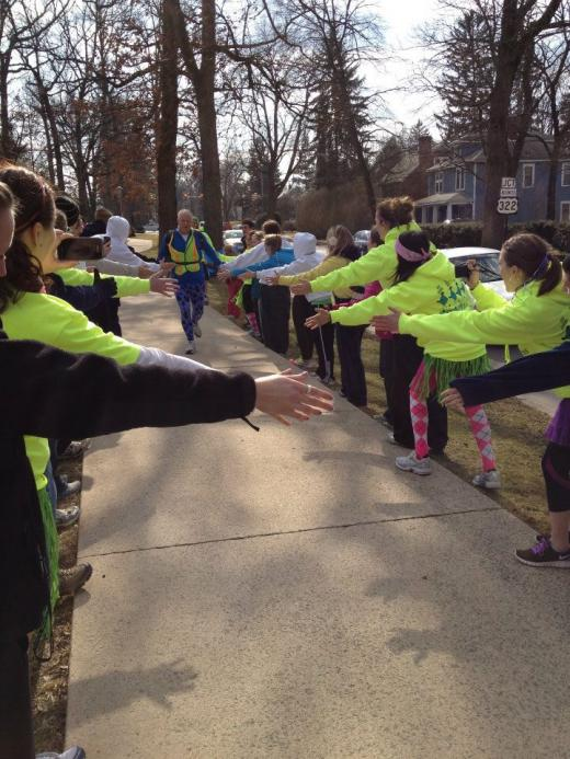 Hope Express Runners Making 135-Mile Trek for THON
