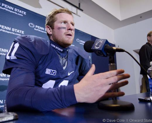 For Penn State Football's NFL Pro Day, Matt McGloin Scouts Matt McGloin