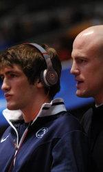 Penn State Wrestlers in First Place at Big Ten Championship Tournament