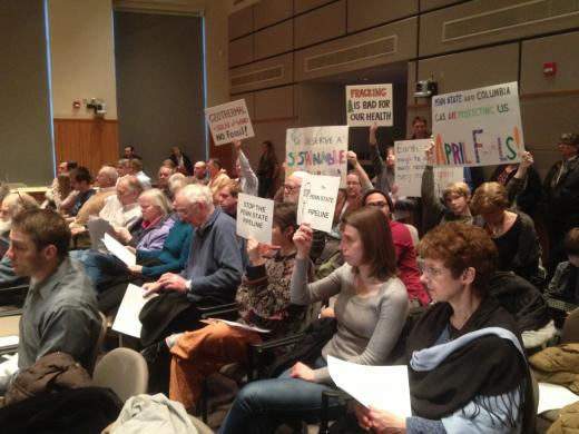 Proposed Gas Pipeline Sparks Heated Response at State College Borough Council Meeting