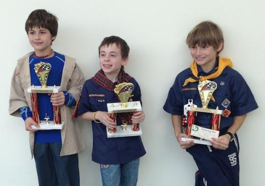PineWood Derby Competition Brings Out Wild Designs as Cub Scouts Race to Victory