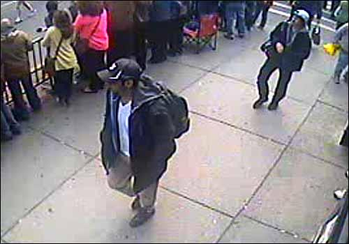 FBI Releases Photos of Two Armed and Dangerous Suspects in Boston Bombing