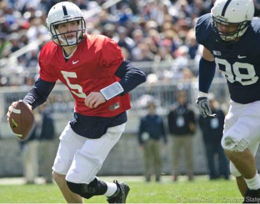 Penn State Football: Hackenberg Still in The Thick of Quarterback Race Following Spring Practice