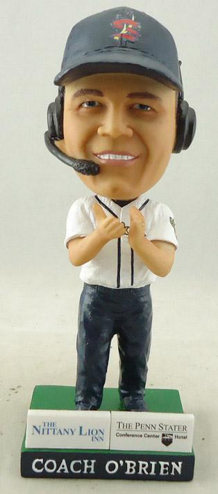 Coach O'Brien Bobblehead Gets Top Billing on Spikes Schedule